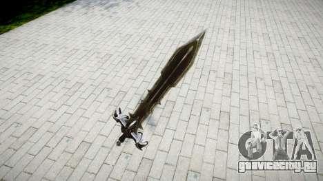 Меч -Черный рыцарь- для GTA 4 второй скриншот