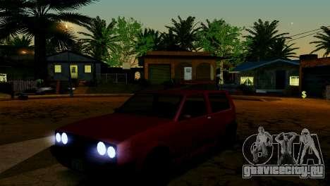 ENB для слабых и средних ПК SA:MP для GTA San Andreas десятый скриншот