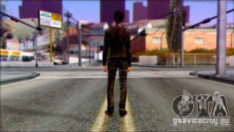 Ellie from The Last Of Us v3 для GTA San Andreas второй скриншот