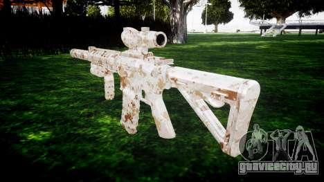 Автомат M4 Devgru target для GTA 4 второй скриншот