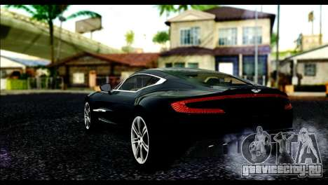 Aston Martin One-77 Beige Black для GTA San Andreas вид слева