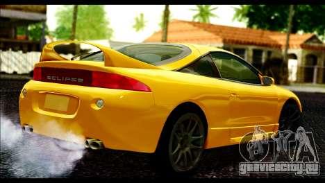 Mitsubishi Eclipce 1999 для GTA San Andreas вид слева