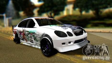 Toyota Aristo для GTA San Andreas