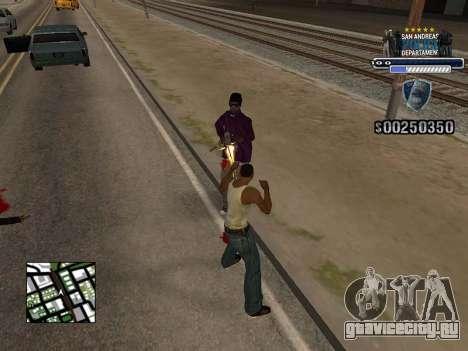 Police HUD для GTA San Andreas второй скриншот
