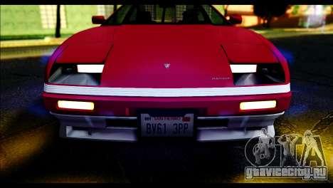 GTA 5 Ruiner Standart для GTA San Andreas вид сзади слева