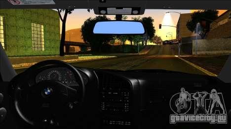 BMW M3 E36 UUTuning для GTA San Andreas вид сзади слева