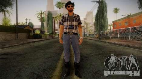 Gedimas Edward Skin HD для GTA San Andreas