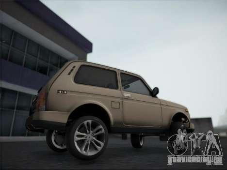 Lada Urdan для GTA San Andreas вид сзади слева
