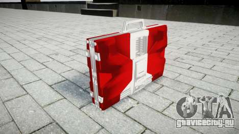 Iron Man Mark V Briefcase для GTA 4