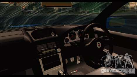 Nissan Skyline R-34 для GTA San Andreas вид сзади слева