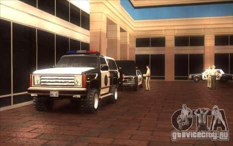 Оживление LVPD для GTA San Andreas третий скриншот