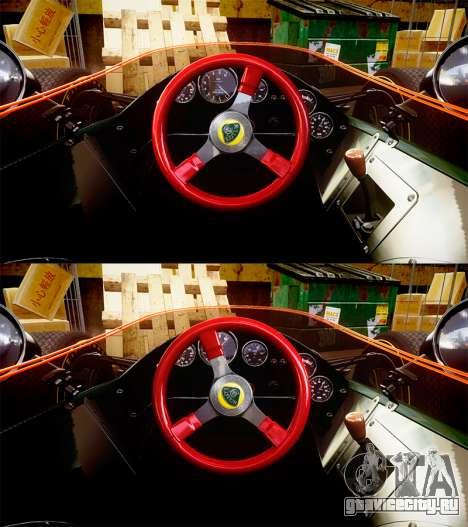 Lotus Type 49 1967 [RIV] PJ19-20 для GTA 4 вид сзади