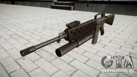 Винтовка M16A2 M203 sight4 для GTA 4