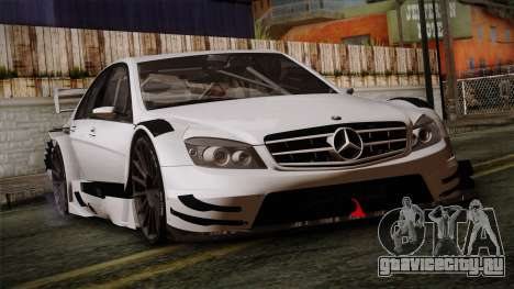 Mercedes-Benz C-Coupe AMG DTM для GTA San Andreas