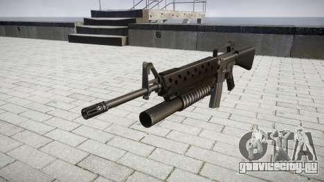 Винтовка M16A2 M203 sight3 для GTA 4