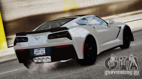Chevrolet Corvette Z06 2015 для GTA 4 вид слева