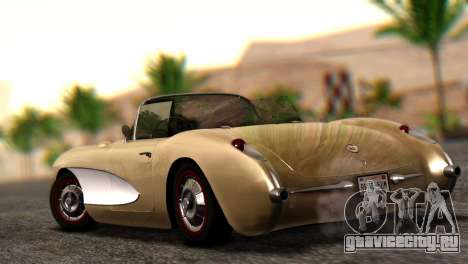 Chevrolet Corvette C1 1962 Dirt для GTA San Andreas вид слева