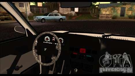 Tofas Dogan 90 Model для GTA San Andreas вид сзади слева