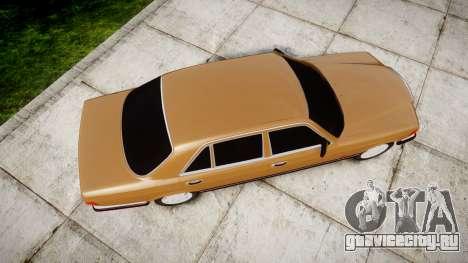 Mercedes-Benz 560SEL W126 для GTA 4 вид справа