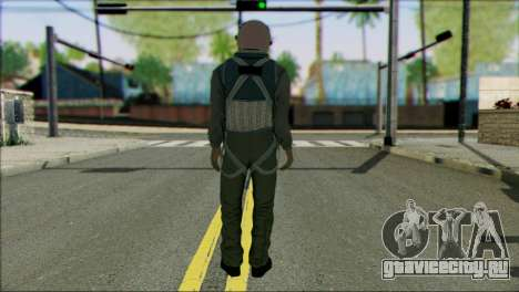 USA Jet Pilot from Battlefield 4 для GTA San Andreas второй скриншот