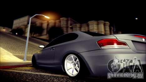 BMW 135i для GTA San Andreas вид сверху