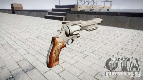Револьвер HandCannon для GTA 4 второй скриншот