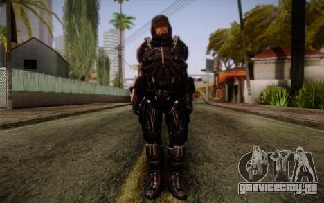 Shepard N7 Defender from Mass Effect 3 для GTA San Andreas