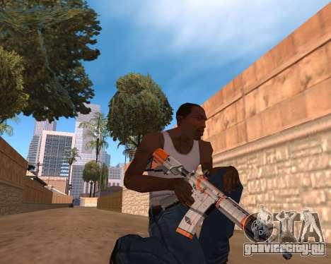 CS:GO Weapon pack Asiimov для GTA San Andreas третий скриншот