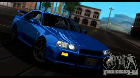 Forza Silver ENB для средних ПК для GTA San Andreas пятый скриншот