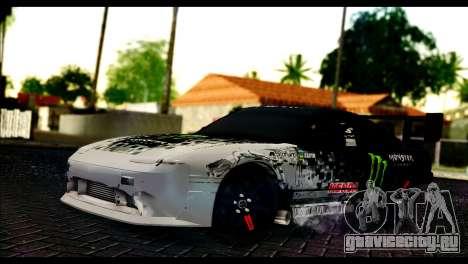 Nissan 180SX Monster Energy Spoiler для GTA San Andreas