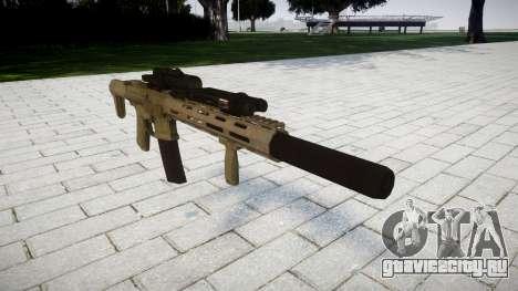 Штурмовая винтовка AAC Honey Badger [Remake] для GTA 4