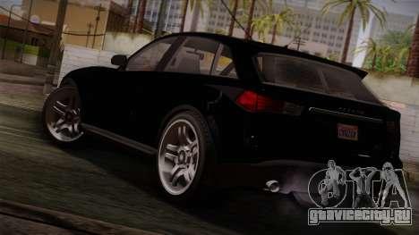 Fathom FQ2 from GTA 5 для GTA San Andreas вид слева