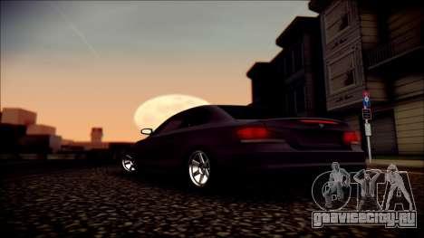 BMW 135i для GTA San Andreas двигатель