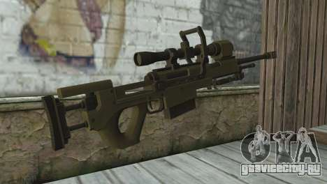 Piers Nivans Rifle from Resident Evil 6 для GTA San Andreas второй скриншот