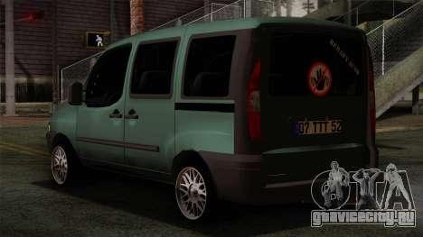 Fiat Doblo 2005 для GTA San Andreas вид слева