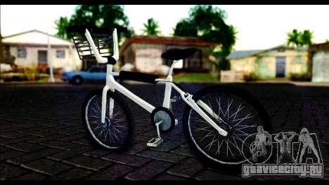 New Bike для GTA San Andreas вид слева