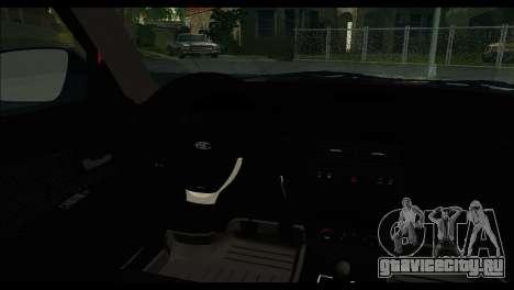 ВАЗ 2172 для GTA San Andreas вид сзади слева