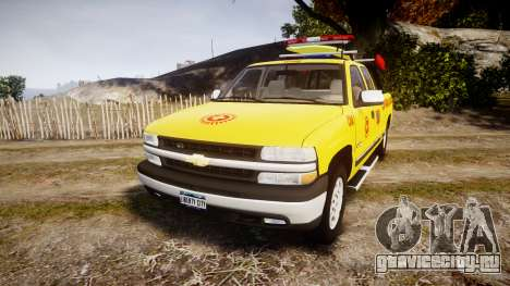 Chevrolet Silverado Lifeguard Beach [ELS] для GTA 4