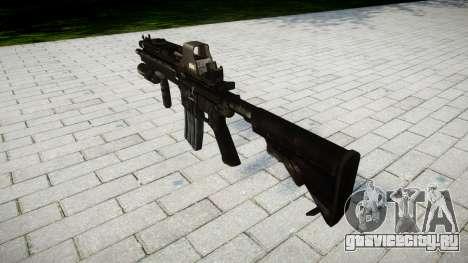 Винтовка HK416 Tactical target для GTA 4 второй скриншот