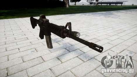 Тактический автомат M4 Black Edition для GTA 4
