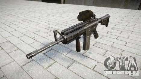 Автоматический карабин M4 Sirs Tactical target для GTA 4