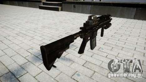Винтовка HK416 Tactical для GTA 4 второй скриншот