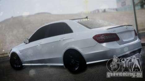 Mercedes-Benz E63 для GTA San Andreas вид слева