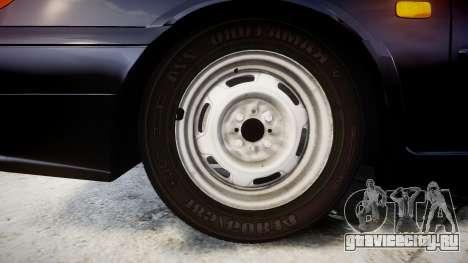 ВАЗ-2114 для GTA 4 вид сзади