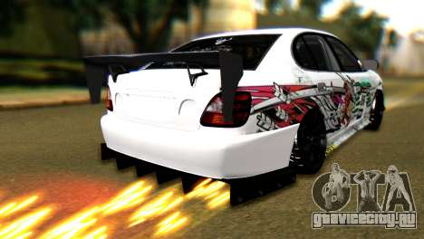 Toyota Aristo для GTA San Andreas вид слева