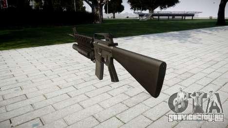 Винтовка M16A2 M203 sight3 для GTA 4 второй скриншот