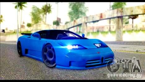 Bugatti EB110SS для GTA San Andreas