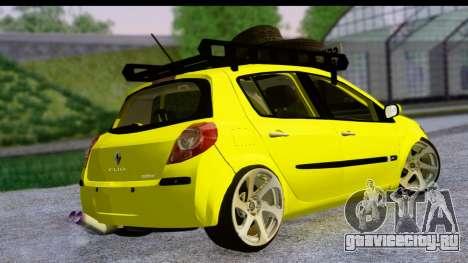Renault Clio для GTA San Andreas вид слева