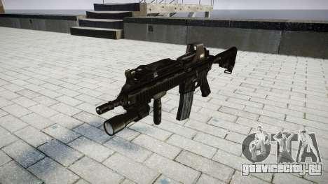 Винтовка HK416 Tactical target для GTA 4