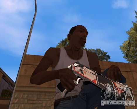 CS:GO Weapon pack Asiimov для GTA San Andreas второй скриншот